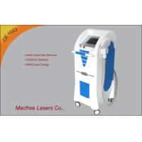 Cheap 808nm 10HZ Diode Permanent Laser Hair Removal Machine , Digital Color Microcomputer System for sale
