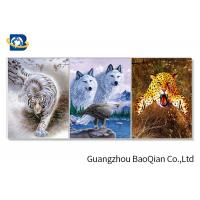 Cheap Stunning Animal Lenticular Flip / Amazing Naked 3D Lenticular Photography for sale