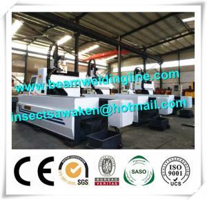 China Longitudinal CNC Drilling Machine , 6m CNC Drilling Machine For Metal Sheet on sale