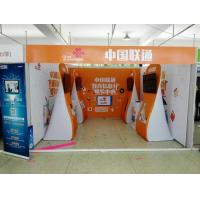 Cheap Formulate Stretch Hop Up Fabric Display Stand For Exhibition wholesale