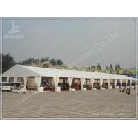 Cheap 20M Span Large Outdoor Party Tents For Rent , Aluminium Frame White Party Marquee wholesale