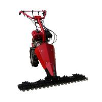 China Anti-Slip Feature and Petrol/Diesel Power Type sickle bar mower /Mini tractor scythe mower on sale