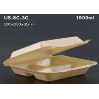 Cheap Disposable plastic tray Take away food packaging container lunch box for sale