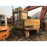 Cheap Original Paint Second Hand Excavators , Mini Used Caterpillar Excavators E70B for sale