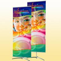 Cheap Trade Show Fabric Banner Stand Roll-up Vinyl Graphics Banners for sale