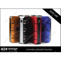 China God 180w Box Mod Blue Aluminum Mechanical Mod E Cig God 180 mod with 510 thread on sale