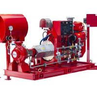 Buy cheap Industrial Diesel Engine Driven Fire Pump , UL/FM End Suction Pump Set from wholesalers