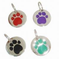 Cheap Dog ID Tags, Made of Metal for sale