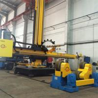 Motorized Moving Rotation Column and Boom Welding Machine With Electric Cross Slides