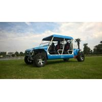 Cheap 1100cc gas utility vehicles with 4 seats and blue and green color wholesale
