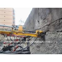 Buy cheap Hot China 7ton mini wheeled spiral drilling machine wholesale from wholesalers