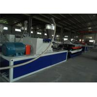 Cheap Single Screw Plastic Pipe Extrusion Line , PE Corrugated Pipe Production Line for sale