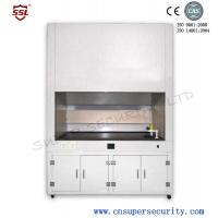 Cheap Medical fume hood with tough 3.2mm glass window, Built-in blower, security work table for sale