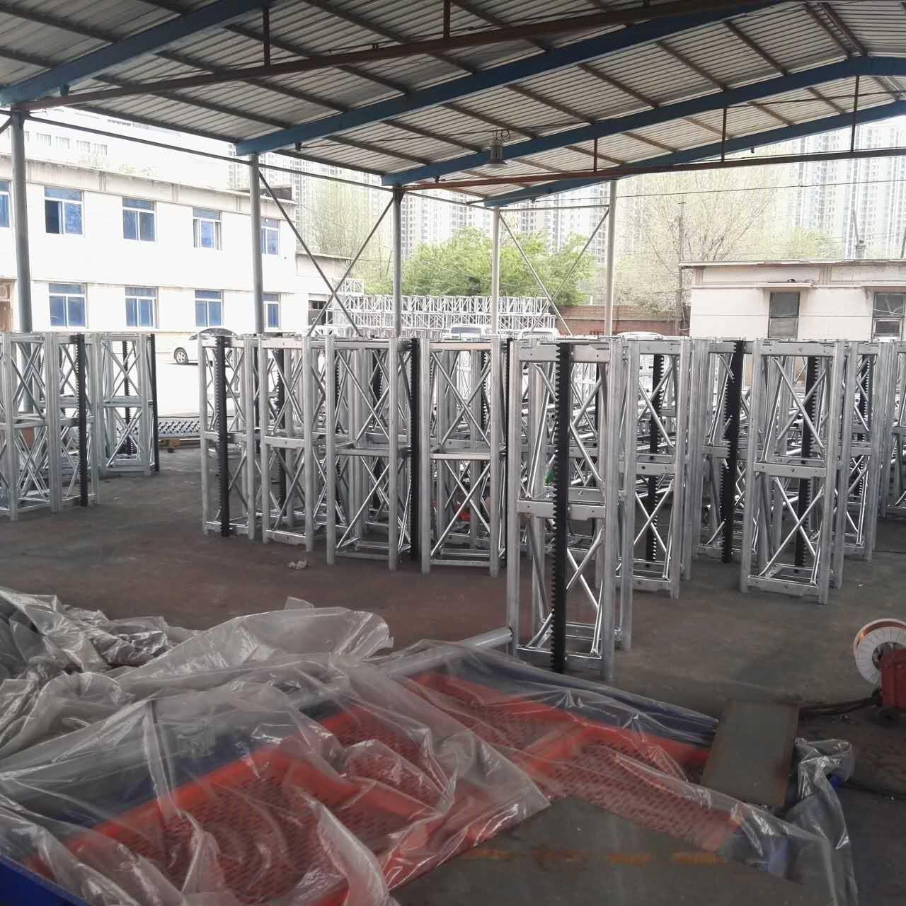 Cheap CE Customized Color 450 Mast Industrial Lift With Motor Power 2x15kw, 400kg Lifting Device wholesale