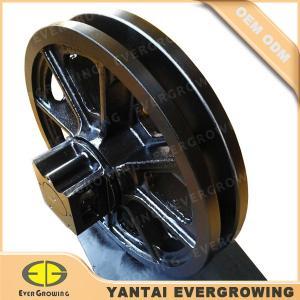 Quality Tumbler Drive Idler Assy Guide Wheel for Hitachi KH100-1 Crawler Crane wholesale