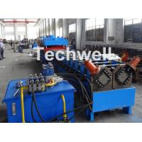 Cheap 2 In 1 Metal Stud Roll Forming Machine , Sheet Metal Roll Forming Machines for sale