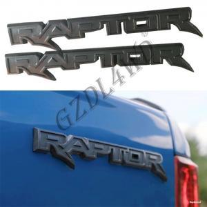 Cheap Genuine Rear Logo Tailgate Car Part Grey Raptor For Ford Ranger Raptor 4x4 2012 - 2019 for sale