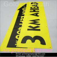 Cheap Uv Printing Outdoor Polyester Vinyl Advertising Banners For Business wholesale