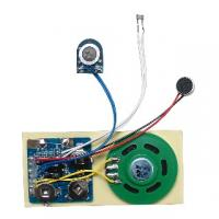 Cheap Compact design motion sensor Recordable Sound Module with 36mm speaker for sale