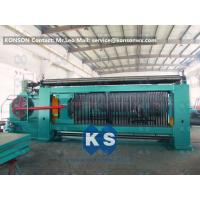 Cheap Heavy Duty Gabion Mesh Machine Net Weaving Machine 80x100mm Netting Width 4300mm wholesale