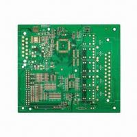 Cheap Double-sided PCB, 1.6mm Board Thickness, Plating Gold and FR4 Material for sale