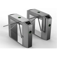 Bus station entry flow control solenoid valve Tripod Turnstile Gate 30 person / minute speed