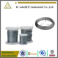 Cheap cheaper price Stainless Steel Wire rope  for hot sale in walmart plastic wheel good quality for sale