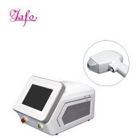 Cheap Portable Big spot size 3 wave length 755nm 808nm 1064nm diode laser for Hair Removal beauty device LF-646A for sale