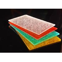Cheap Colorful Diamond Surface Polycarbonate Solid Sheet Lightweight 2-12mm for sale