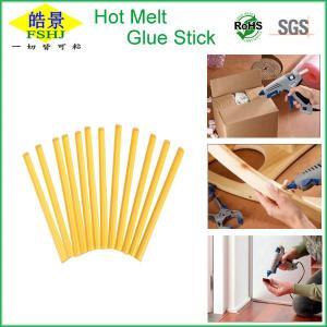Cheap Flexible Eva Hot Melt Glue Sticks For Plastic / Wood / Metal High Strength wholesale