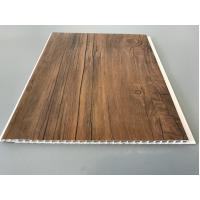 Cheap 10 Inch Wooden laminate ceiling panels Thickness 7.5mm For Ceiling for sale