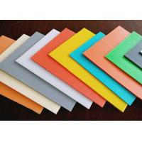 Cheap High Density Rigid Durable Fluted Plastic Sheet With Customized Size And Color for sale