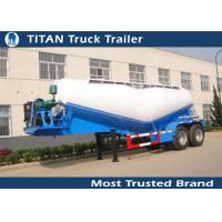 Cheap Customized v type dry bulk cement trailer with 2 axles 25cbm capacity for sale