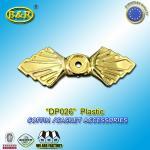 Cheap DP026 Casket And Coffin Accessories Screw Bracket Accessorios Para Ataudes 3.2*9.3 Cm for sale