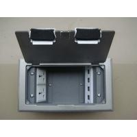 Stainless steel floor outlet box with certificate of