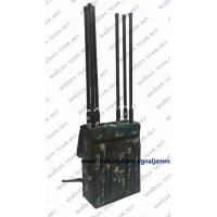 China 80 Meter High Power Backpack Signal Jammer Manpack Portable GSM 4G Cell Phone Signal Jammer on sale