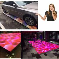 Cheap Interactive 5V 60A SMD Led Light Up Dance Floor 1920HZ Full Color Vivid Video for sale