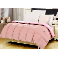 China 40x40 Flannel Fleece Adults King Size Duck Down Duvet Bedding For Hotel on sale