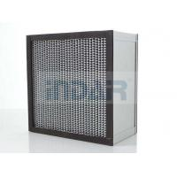 Cheap SUS304 Frame Clean Room HEPA Air Filter H13 With High Temperature Resistance Panel for sale
