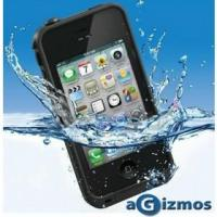 Cheap Black Color Waterproof Shockproof PC Case /Life Dirt Proof Cover Fits Apple iPhone 4 4s for sale