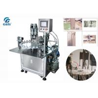 Cheap High Output Nail Polish Making Machine With Two Nozzles And Capping Machine for sale