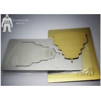 Cheap Gold Inspirational  Custom Metal Bookmarks For Women , Personalized  Plain Metal Bookmarks for sale