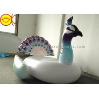 Quality Inflatable Peacock Swimming Pool Floats Ride On Party Tube Giant Raft Lounge Toy wholesale