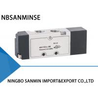 China YPC Type 5 Port 3 Way Solenoid Valve Pneumatic Sanmin 4A 100-L Series on sale