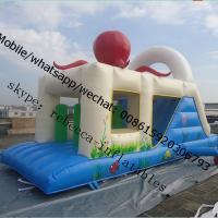Cheap Under sea theme inflatable bouncer for sale