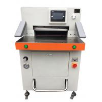 Cheap Program Control Automatic Paper Cutting Machine 670mm High Accuracy for sale