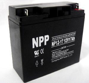 Cheap UPS Battery (NP12-17Ah 12V 17AH) for sale
