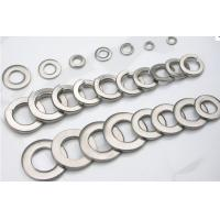 Cheap 316Ti /316 Stainless Steel Precision Spring Washers Fasteners For Skirting Board, Railings for sale