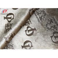 Cheap 100% Polyester Knitted Velvet Glue Printed Fabric Plush Velboa Fabric For Sofa for sale
