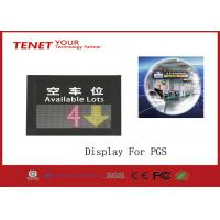 Cheap One direction indoor LED display to the parking Guidance system to show the parking space for sale